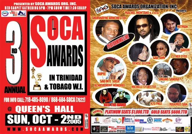 soca awards